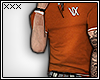 [X] Burnt Orange Polo.