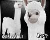 ! White Llama #Animated