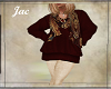 JAC.LONG TUNIC SW MAROON