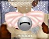 .M. Pink Bell Collar