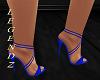 Bloom Blue Heels