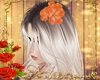 Hair Flor Laranja
