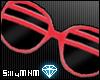 =D shutter shades: red