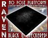 PLATFORM BLACK & CHECK!