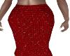 Evansure Red Skirt