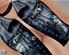 -V- Dark Blue open vest