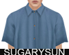 /su/ SATIN SHIRT BLUE