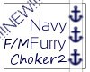 :Navy Furry:ChokerV2|F/M