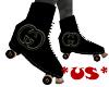 *US* Gucci Black Skates