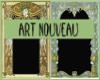 II Art Nouveau Frames
