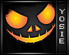 ~Y~Scary Pumpkin Head