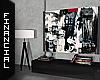 ϟ Modern Art & Lamp