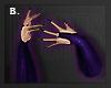 B | Raven Gloves + Nails