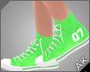 ~AK~ Varsity Shoe: Green