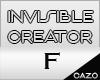 cz ★Invisible Creator
