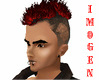 Men's Red Hairstyle