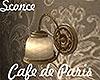 [M] Cafe Paris Sconce