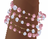 White/Pink PearlBracelet
