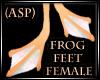 (ASP) Anyskin Frog Feet