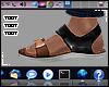 ᵀ Sandals BROWN™