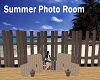 Summer Photo Room