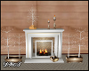 D- Winter D Fireplace