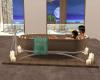 (S)Beach bathtub w ps