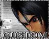 CcC custom 2 hair black