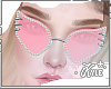 Pink Studded Glasses | F