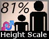 Height Scale 81% F