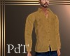 PdT Tan Chamois Shirt M