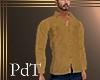 PdT Tan Chamois Shirt M