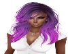 Magenta color hair