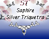 ST}SaphireSilverTriquetr