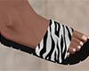 White Stripe Sandals (M)