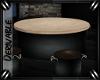 o: Round Table w/ Stools