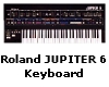Roland Jupiter6 Keyboard