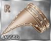 Golden studded armband R
