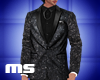 MS Glitter Jacket Black
