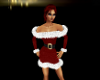 Red Christmas Elf Dress