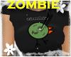 *S* Zombie Chick Black