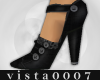 [V7] BlackButton Shoes
