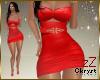 cK Jinie Dress Red