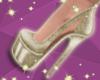 Lou Silver Heel