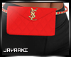 Fanny Clutch Red