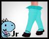 blue unicorn shoe/shoes