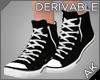~AK~ High Top Sneakers
