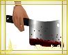 cuchillo carnicero sangr