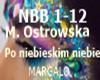 M.Ostrowska Po Niebie