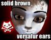 Brown Floppy Dog Ears